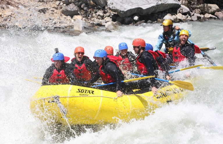 White Water Rafting in Squamish
